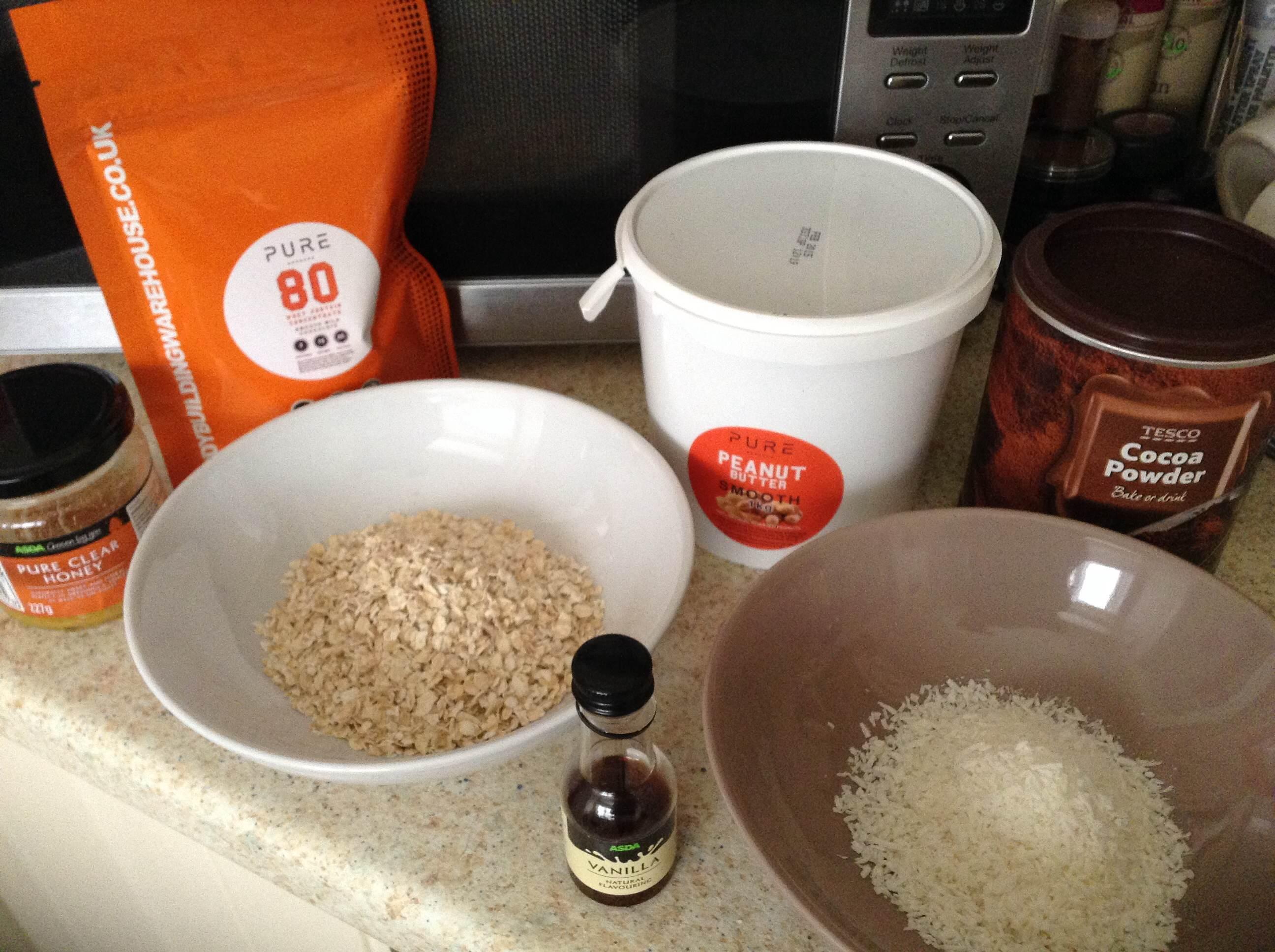 oat protein truffles 1