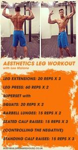 leg workout 1
