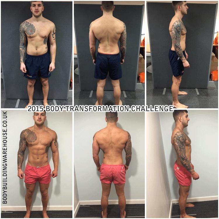 body transformation challenge #BBWTransform