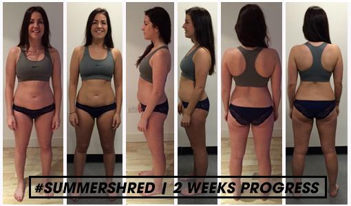 kim 2 weeks progress