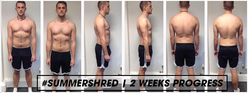 steve 2 weeks progress