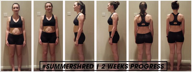 tara 2 weeks progress