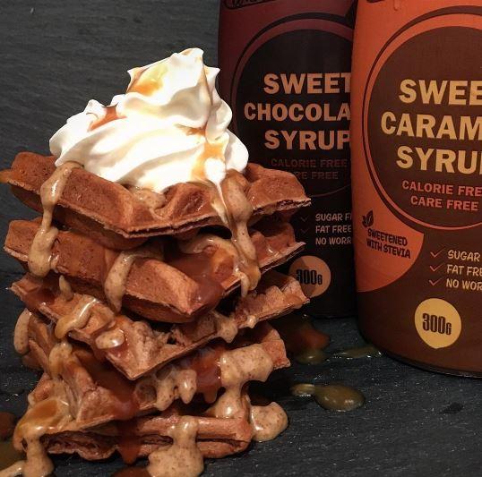 Healthy Snack - Waffles